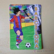 Coleccionismo deportivo: 1 CALENDARIO DEL FC BARCELONA (BARÇA). Lote 24840982