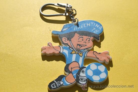 LLAVERO MASCOTA MUNDIAL ARGENTINA 1978 (Coleccionismo Deportivo - Merchandising y Mascotas - Futbol)
