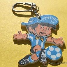Coleccionismo deportivo: LLAVERO MASCOTA MUNDIAL ARGENTINA 1978. Lote 25152119