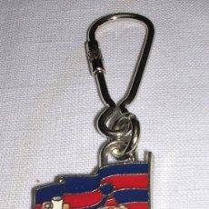 Coleccionismo deportivo: LLAVERO FÚTBOL CLUB BARCELONA ` JORDI CULÉ ´, ORIGINAL DE 1991; A ESTRENAR. Lote 15670539