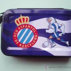 Coleccionismo deportivo: CARTERA DEL R.C.D.ESPAÑOL COMPLETAMENTE NUEVO. Lote 81960059