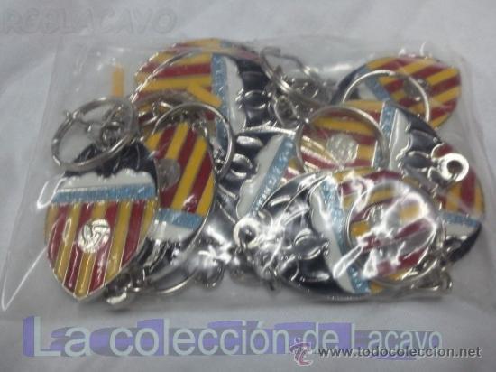 LOTE DE 10 LLAVEROS NUEVOS A ESTRENAR DEL VALENCIA C.F. (Coleccionismo Deportivo - Merchandising y Mascotas - Futbol)