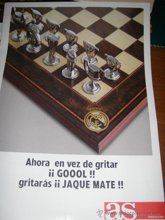 Coleccionismo deportivo: Real Madrid C.F. - Ajedrez - - Foto 4 - 27509972