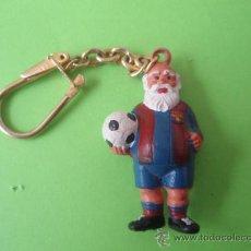 Coleccionismo deportivo: ANTIGUO LLAVERO DEL F.C.BARCELONA MUY BIEN CONSERVADO. Lote 27752649