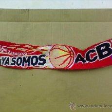 Coleccionismo deportivo: BUFANDA BALONCESTO CAI TIPO LANA. YA SOMOS ACB.. Lote 27958980
