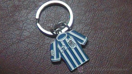 LLAVERO FUTBOL REAL SOCIEDAD SAN SEBASTIAN (Coleccionismo Deportivo - Merchandising y Mascotas - Futbol)