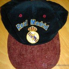 Coleccionismo deportivo: .GORRA OFICIAL REAL MADRID.1998.FUTBOL.. Lote 28091509