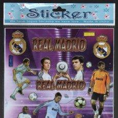Coleccionismo deportivo: ADHESIVOS REAL MADRID (PRECINTADO). Lote 28277849