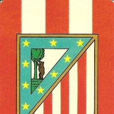 Coleccionismo deportivo: ANTIGUO Y ESCASO ALMANAQUE DEPORTIVO DE COLECCIÓN DEL ATLETICO DE MADRID-1975 CON PROPAGANDA EN REV.. Lote 28559109