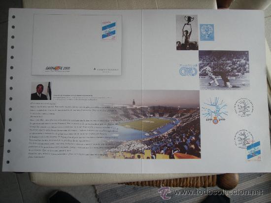 RCD ESPANYOL - BARNAFIL 2000- FUTBOL- (Coleccionismo Deportivo - Merchandising y Mascotas - Futbol)
