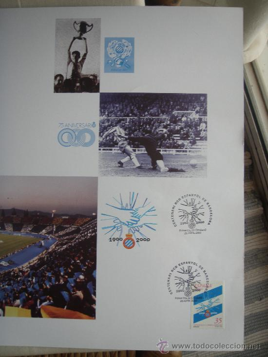 Coleccionismo deportivo: RCD Espanyol - Barnafil 2000- Futbol- - Foto 2 - 28650148