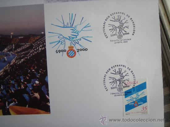 Coleccionismo deportivo: RCD Espanyol - Barnafil 2000- Futbol- - Foto 3 - 28650148