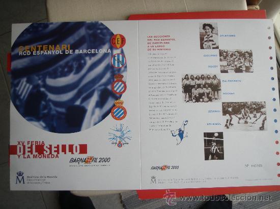 Coleccionismo deportivo: RCD Espanyol - Barnafil 2000- Futbol- - Foto 4 - 28650148