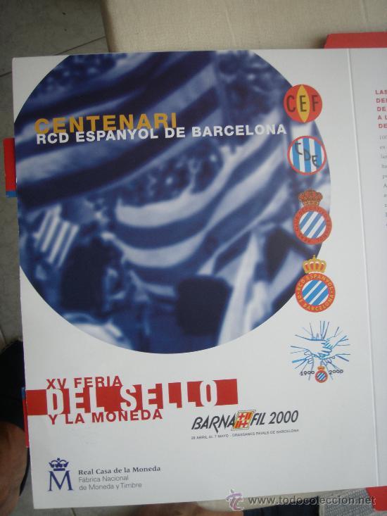 Coleccionismo deportivo: RCD Espanyol - Barnafil 2000- Futbol- - Foto 5 - 28650148
