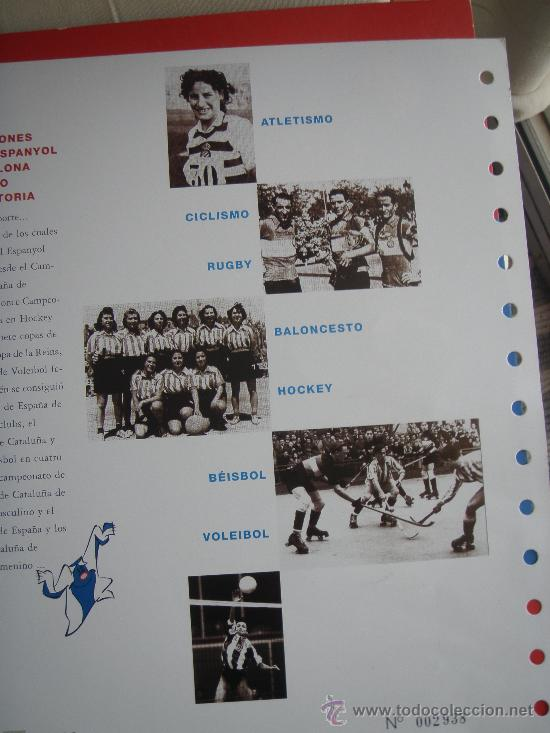 Coleccionismo deportivo: RCD Espanyol - Barnafil 2000- Futbol- - Foto 6 - 28650148