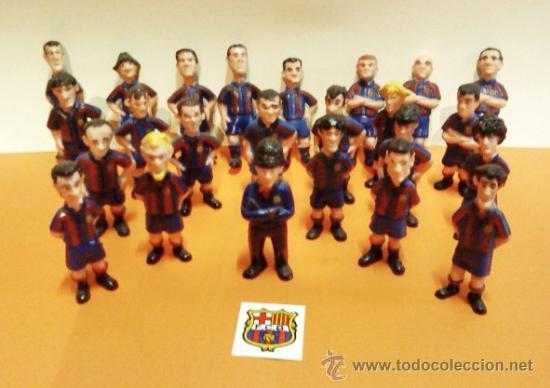 BARÇA / FC BARCELONA - 25 FIGURAS CARICATURAS JUGADORES FUTBOL - DIFERENTES - VER FOTOS- AÑOS 90 (Coleccionismo Deportivo - Merchandising y Mascotas - Futbol)
