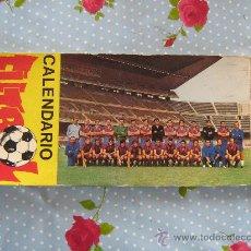 Coleccionismo deportivo: CALENDARIO 1971 BARÇA FC BARCELONA CF POSTALES DE JUGADORES F.C FUTBOL CLUB VER FOTOS ESTAN TODAS. Lote 29709324