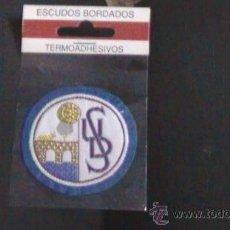 Coleccionismo deportivo: ESCUDO BORDADO DE TELA ESCUDO FUTBOL SALAMANCA. Lote 29872390