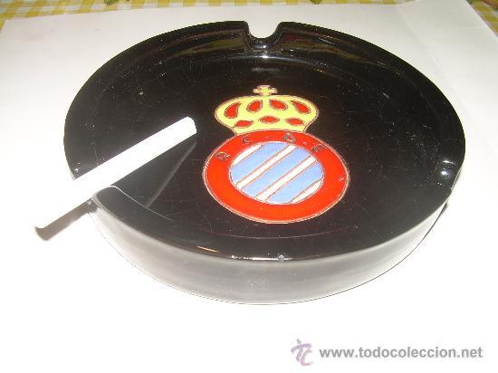 Coleccionismo deportivo: ANTIGUO CENICERO DE CERAMICA......R.C.D. ESPAÑOL. - Foto 3 - 29941012