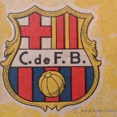 Coleccionismo deportivo: CALENDARIO CF BARCELONA F.C BARÇA FC FUTBOL CLUB LIGA 1948-1949 ALINEACION ESCUDO EPOCA FRANQUISTA. Lote 30064907