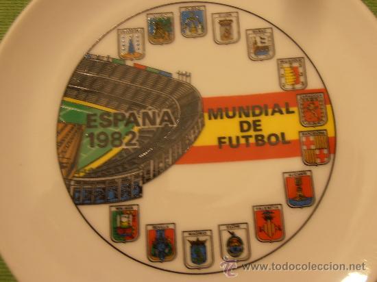 Coleccionismo deportivo: PLATO MUNDIAL DE FUTBOL , ESPAÑA 1982 - Foto 2 - 30352264