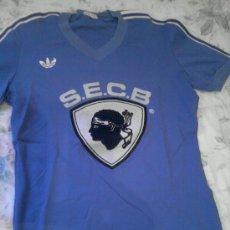 Coleccionismo deportivo: CAMISETA MITICA DEL SEC BASTIA. Lote 30680171