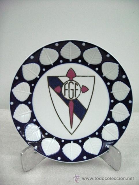 PLATO PORCELANA CASTRO SARGADELOS GALICIA. FEDERACION GALLEGA DE FUTBOL (Coleccionismo Deportivo - Merchandising y Mascotas - Futbol)