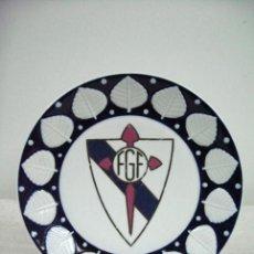 Coleccionismo deportivo: PLATO PORCELANA CASTRO SARGADELOS GALICIA. FEDERACION GALLEGA DE FUTBOL. Lote 30873545
