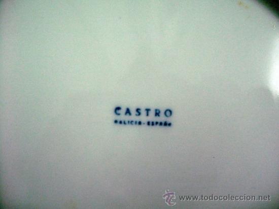Coleccionismo deportivo: plato porcelana castro sargadelos galicia. federacion gallega de futbol - Foto 2 - 30873545