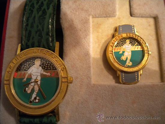 Coleccionismo deportivo: Reloj y pin de la prestigiosa joyeria ARTHUS Bertrand Paris.1970s. - Foto 3 - 31069827