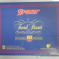Coleccionismo deportivo: TRIVIAL PURSUIT BARÇA - DIARIO SPORT - FUTBOL CLUB BARCELONA. Lote 31406189