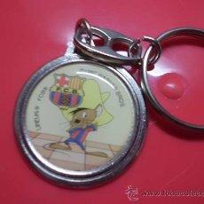 Coleccionismo deportivo: LLAVERO F C BARCELONA BARÇA WARNER BROS SPEEDY GONZALEZ. Lote 31743986