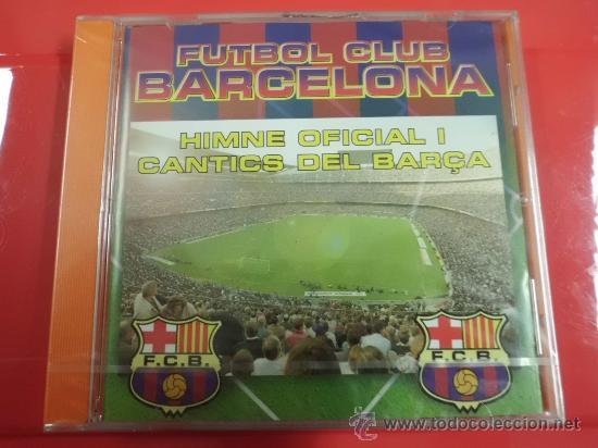 CD DE MUSICA F C BARCELONA HIMNO Y CANTICOS 14 CANCIONES NUEVO PRECINTADO (Coleccionismo Deportivo - Merchandising y Mascotas - Futbol)