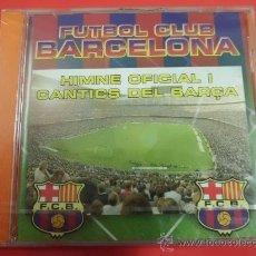 Coleccionismo deportivo: CD DE MUSICA F C BARCELONA HIMNO Y CANTICOS 14 CANCIONES NUEVO PRECINTADO. Lote 31746170