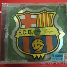 Coleccionismo deportivo: CD DE MUSICA F C BARCELONA HIMNO Y CANTICOS 5 CANCIONES NUEVO PRECINTADO. Lote 31746193