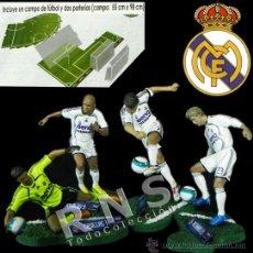 Coleccionismo deportivo: LOTE FIGURAS DE FTCHAMPS DEL REAL MADRID - RAÚL CASILLAS RONALDO DAVID BECKHAM FÚTBOL FIGURA JUGUETE. Lote 32089635