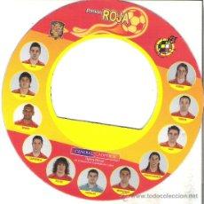 Coleccionismo deportivo: 1 IMAN CIRCULAR SELECCION ESPAÑA O ESPAÑOLA FUTBOL - EUROCOPA AUSTRIA 2008. Lote 81766328