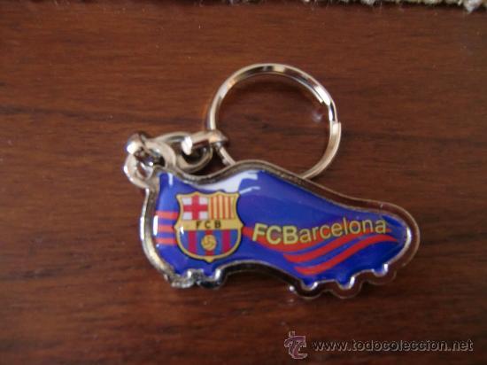 LLAVERO F C BARCELONA BARÇA BOTA (Coleccionismo Deportivo - Merchandising y Mascotas - Futbol)