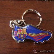 Coleccionismo deportivo: LLAVERO F C BARCELONA BARÇA BOTA. Lote 32615678