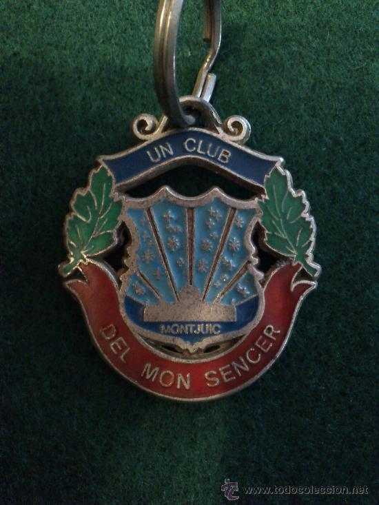 Coleccionismo deportivo: Llavero antiguo del Barça con escudo Fcb - Foto 2 - 32899822