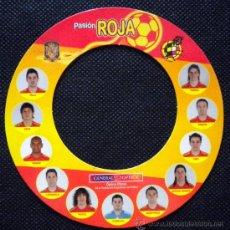 Coleccionismo deportivo: IMAN SELECCION ESPAÑOLA EUROCOPA 2008 UEFA CUP CASILLAS XAVI VILLA PUYOL INIESTA. Lote 33310549