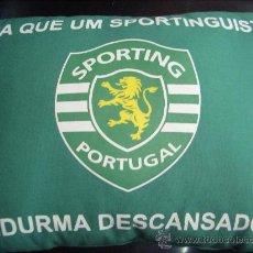 Coleccionismo deportivo: COJIN SPORTING DE LISBOA. Lote 33318500