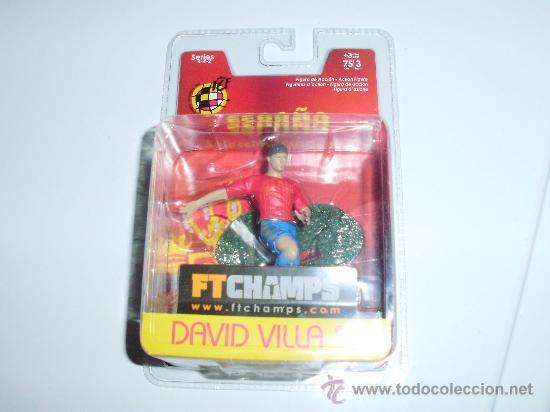 DAVID VILLA (MÁXIMO GOLEADOR EN LA HISTORIA DE LA SELECCIÓN ESPAÑOLA EN BLISTER ORIGINAL SIN ABRIR) (Coleccionismo Deportivo - Merchandising y Mascotas - Futbol)