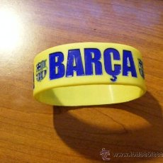 Coleccionismo deportivo: 1 PULSERA - F.C BARCELONA EDICION ESPECIAL MUNDO DEPORTIVO AÑO 2011. Lote 37678216