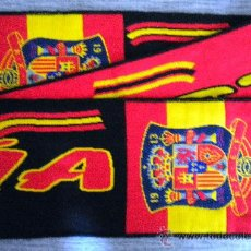 Coleccionismo deportivo: BUFANDA SCARF SCIARPA SELECCION ESPAÑOLA DE FUTBOL FOOTBALL SPAIN. Lote 34134233