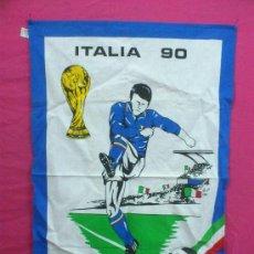 Coleccionismo deportivo: PAÑO DE COCINA MUNDIAL ITALIA 90. ORIGINAL. NUEVO.. Lote 34617059