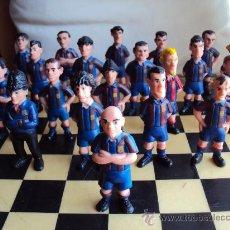 Coleccionismo deportivo: LAS FIGURAS DEL BARÇA. 21 JUGADORES. COMPLETO.. Lote 98743283