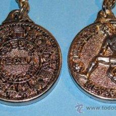 Coleccionismo deportivo: LLAVERO DE LA SELECCIÓN DE MARRUECOS EN EL MUNDIAL DE MÉXICO 86 1986. TECNA. . Lote 35157800