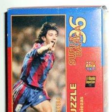 Coleccionismo deportivo: PUZZLE FC BARCELONA VINTAGE DREAM TEAM BAKERO ANTIGUO 1996 COLECCION COMPLETA.. Lote 35312973