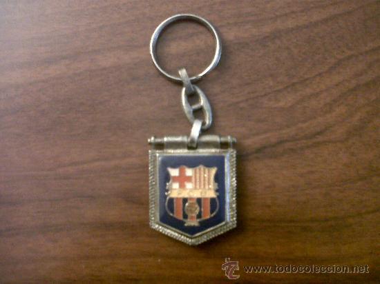 LLAVERO F.C.B. DORSO CAMP NOU (Coleccionismo Deportivo - Merchandising y Mascotas - Futbol)